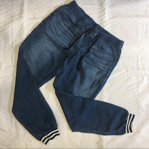 Juicy Couture Pants - Juicy couture chambray joggers small